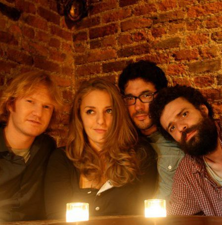 Bennett, Julia, David, and Freddie