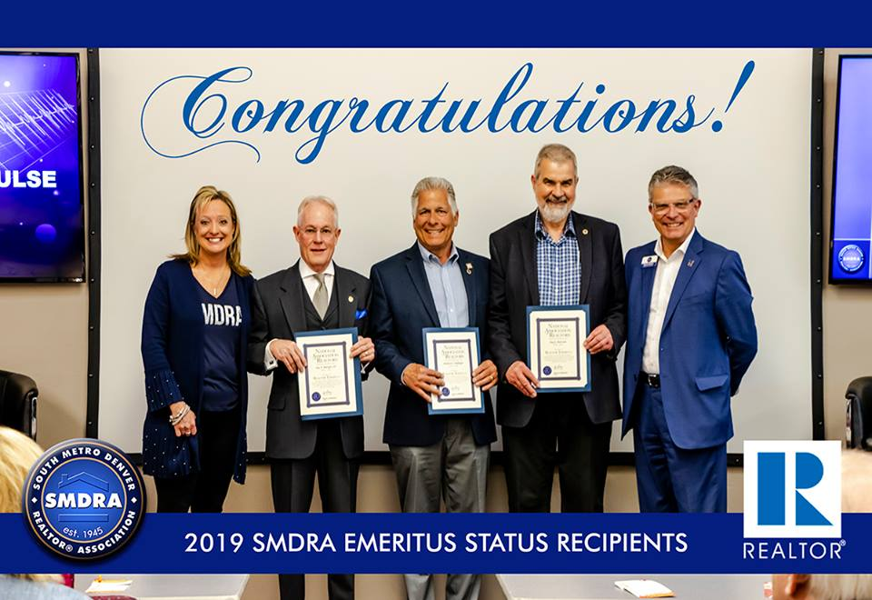 """I was just awarded with the National Association of Realtors """"Realtor Emeritus"""" status for over 40 years of service as a Realtor."""