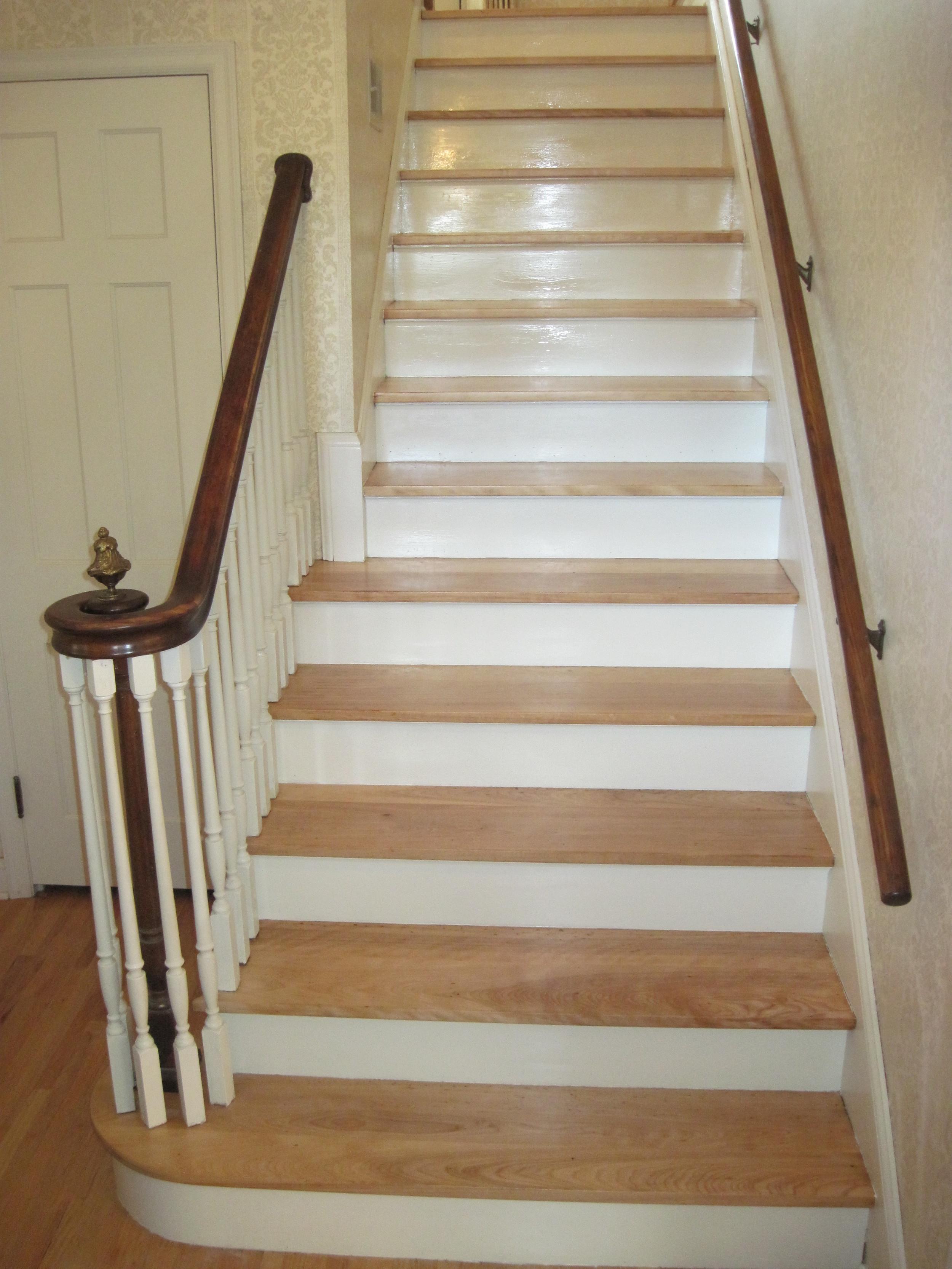 Butternut staircase