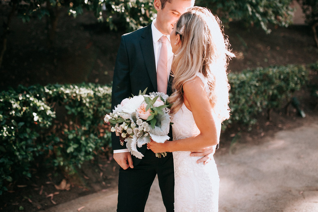 Sweet couple moment photographed by Amy Lynn