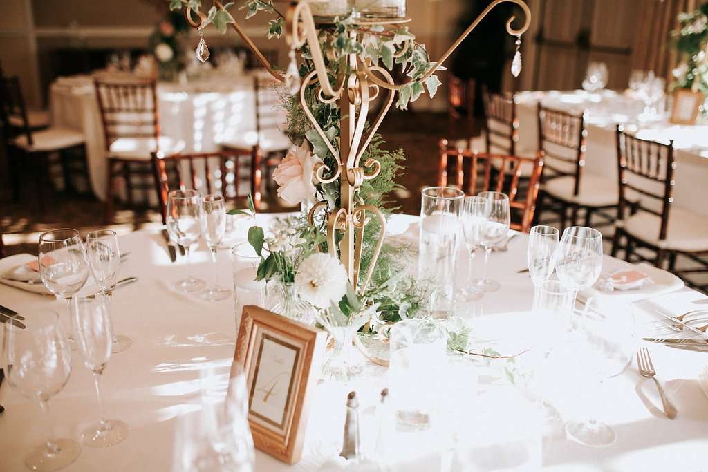Candelabras provided by  Enticing Tables