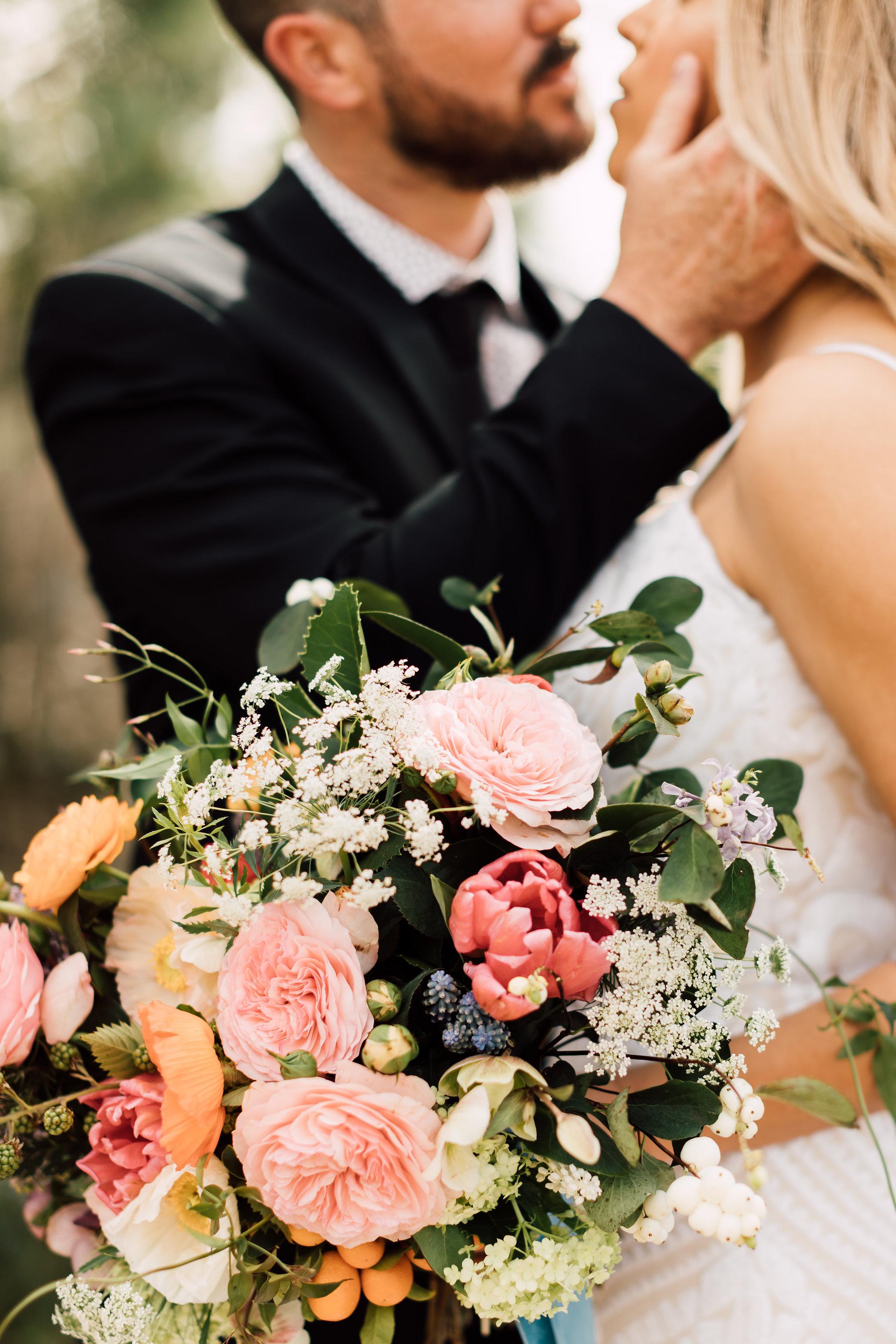 Amanda and Jarod, Wedding at BRICK