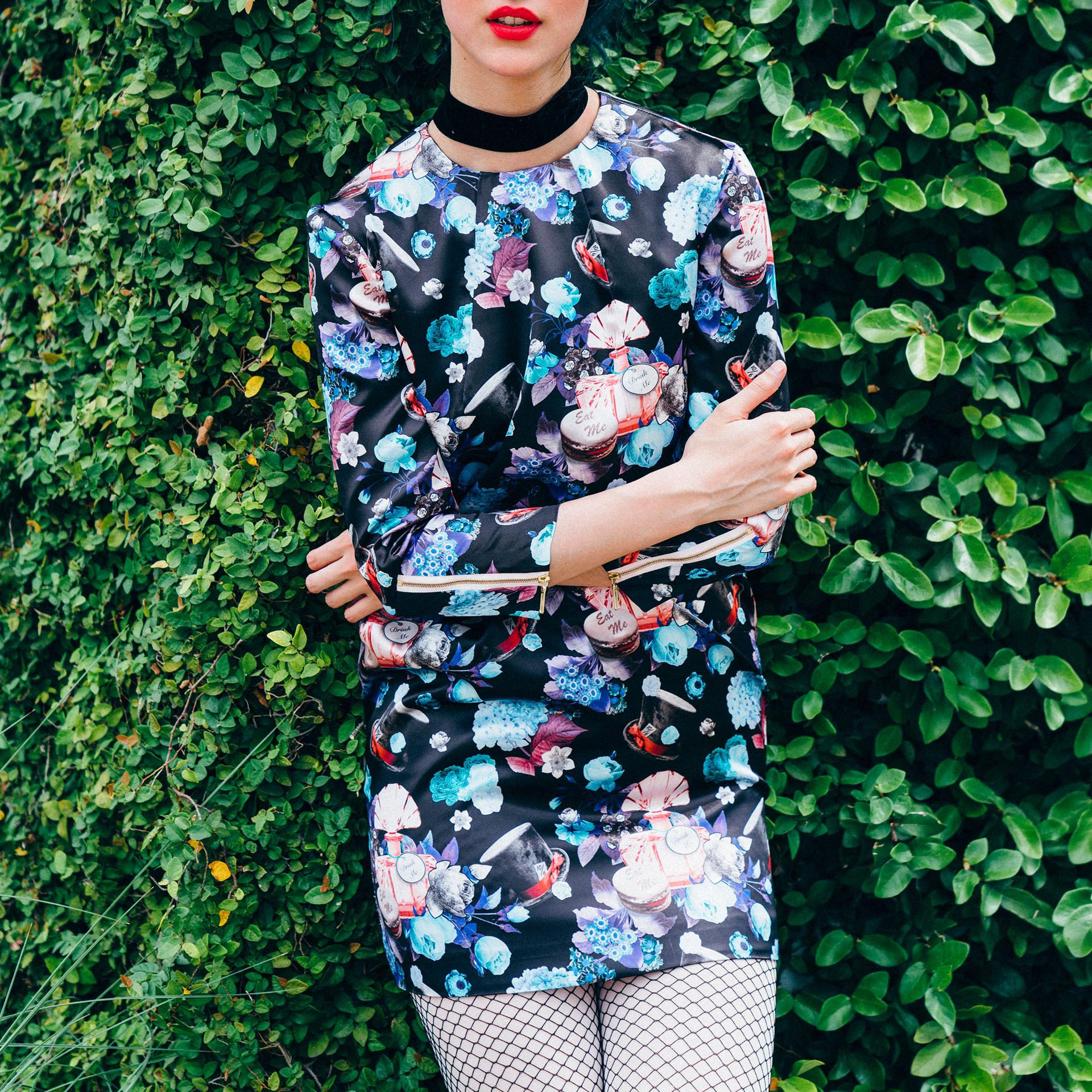 Sweet Me Zipper Dress by Harry Rex - Photo: Todd White