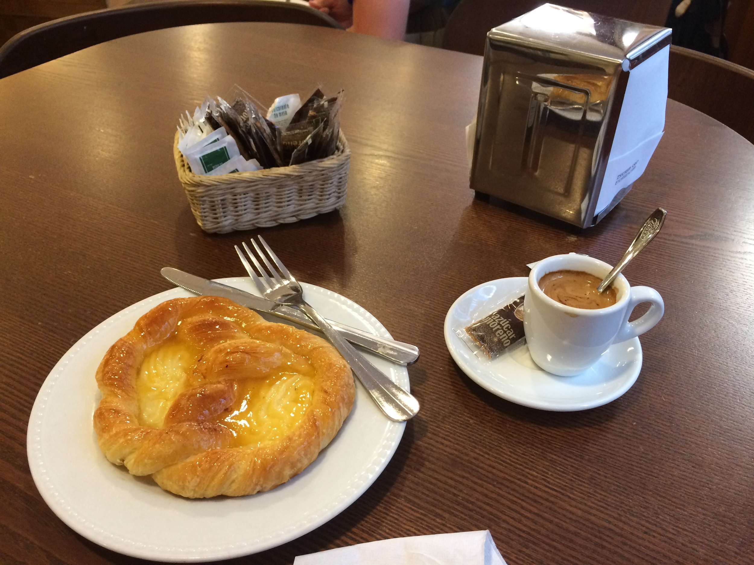 Breakfast in Getaria