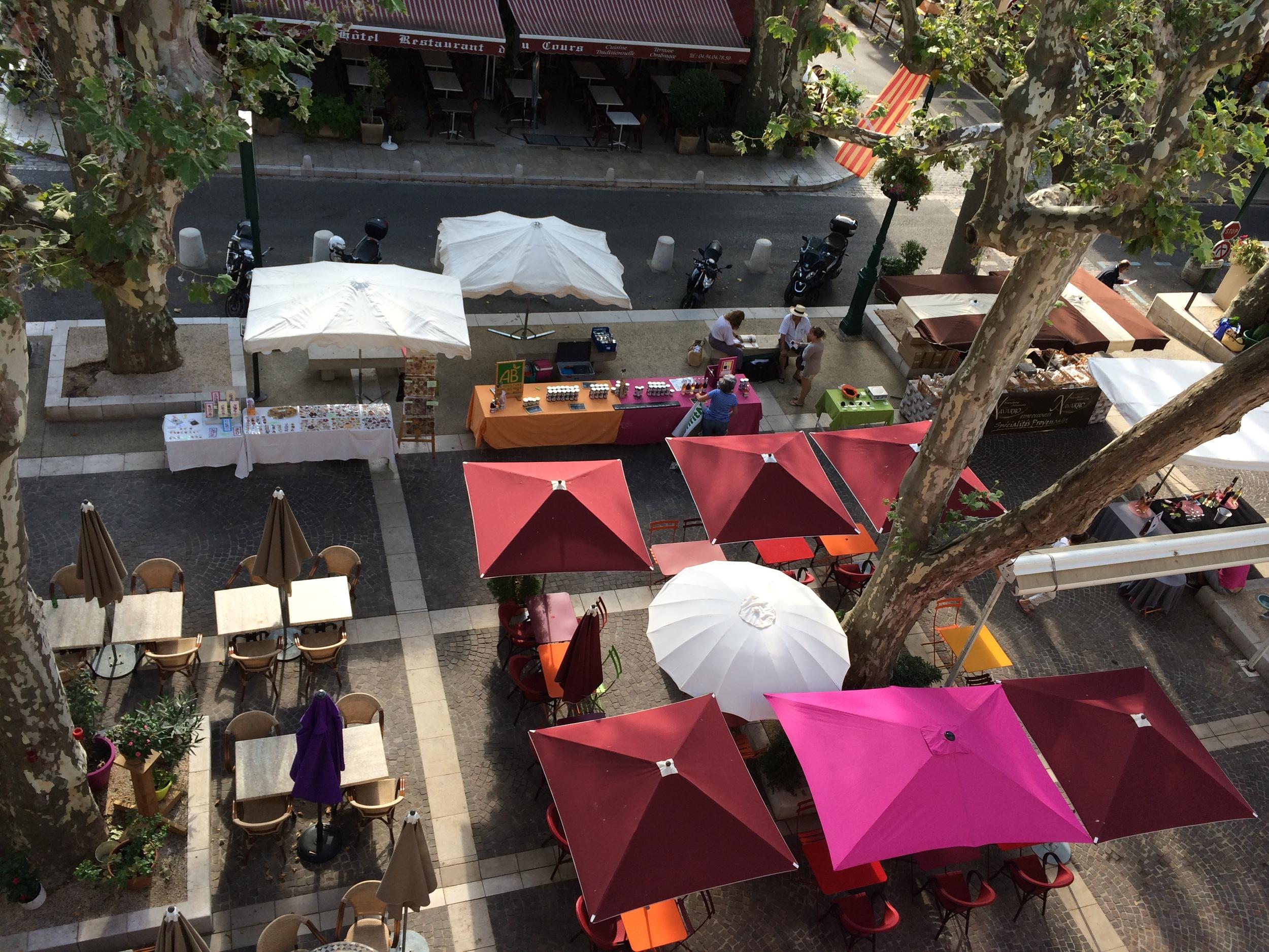 Artisan Market - from my window