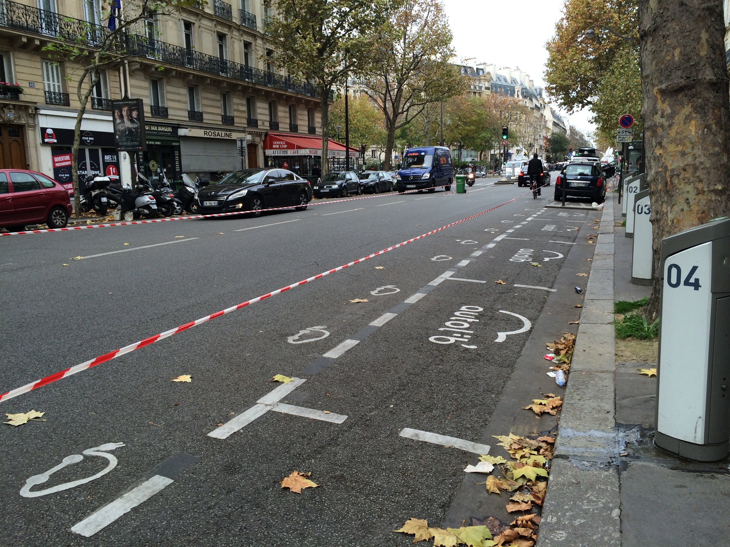Saturday Morning on Boulevard Voltaire