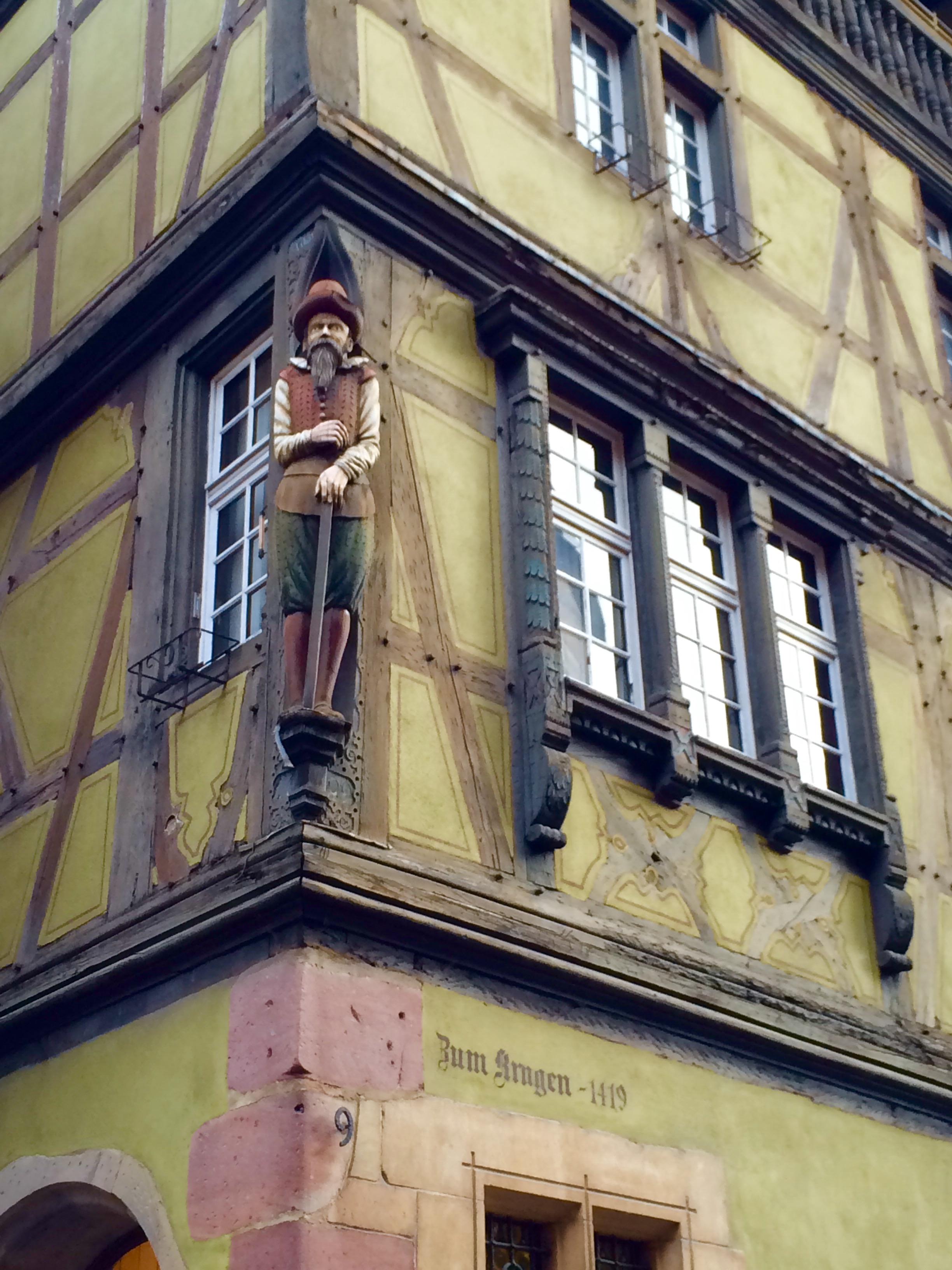 15th Century Building in Colmar, France