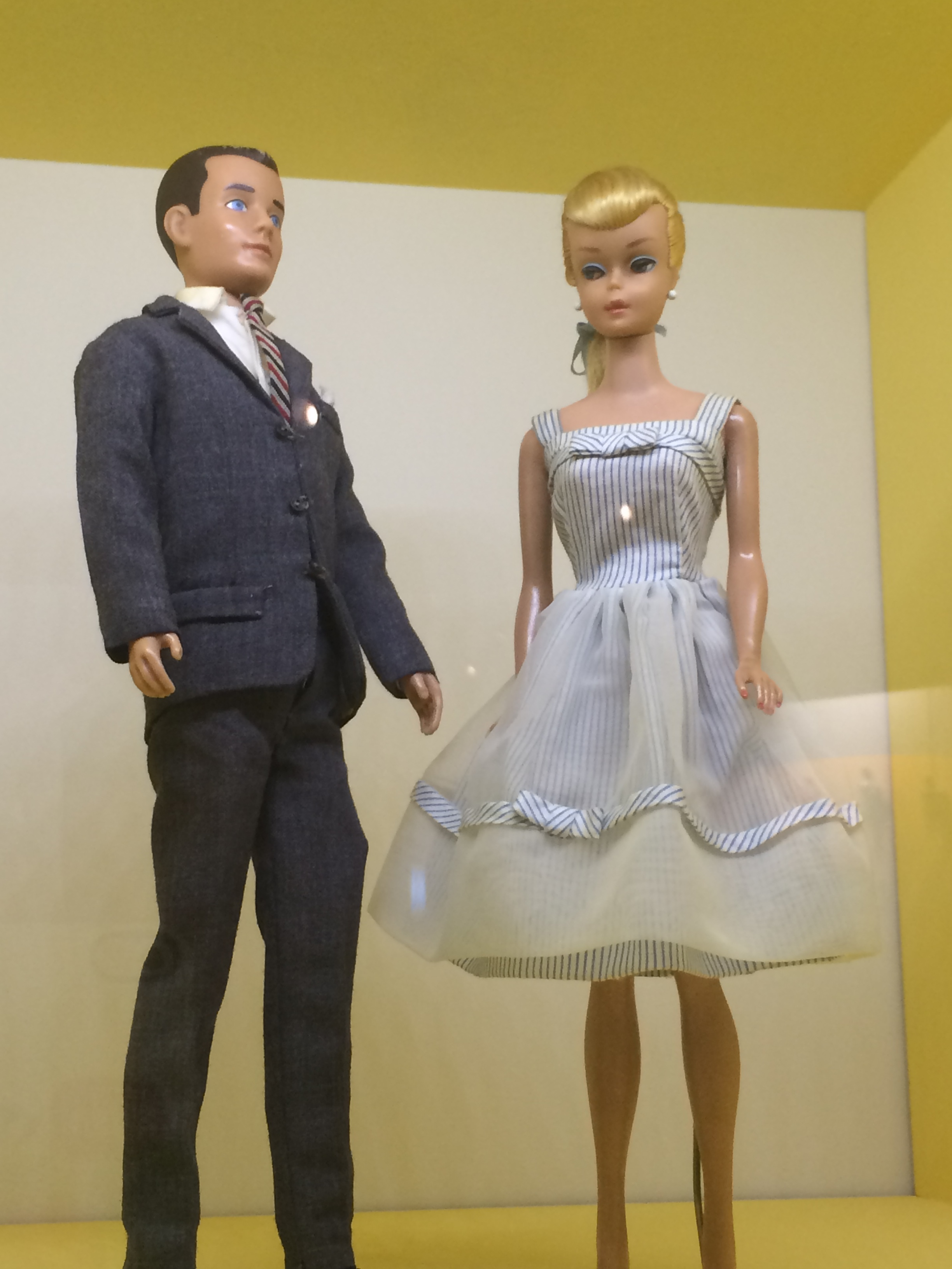 Early 1960s Barbie and Ken