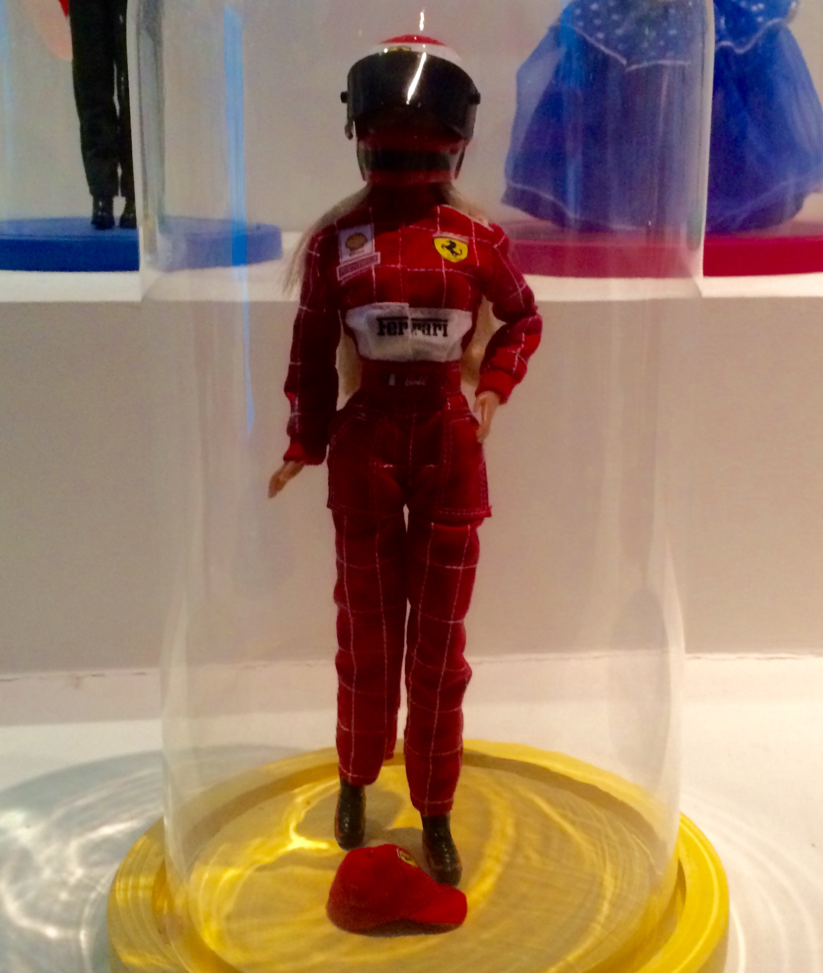 Ferrari Barbie.