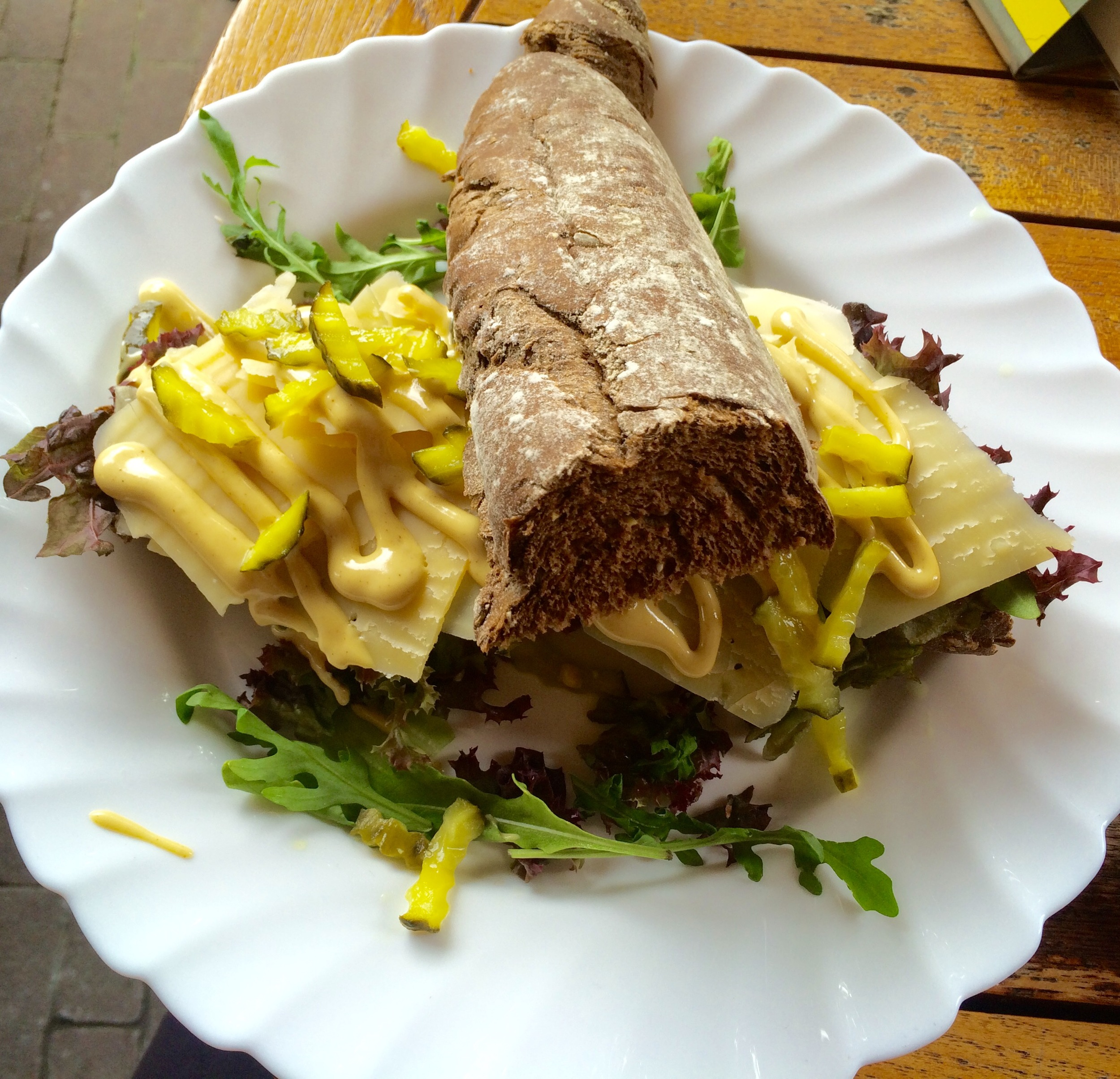 Lunch! At  Café Onder de Ooievaar