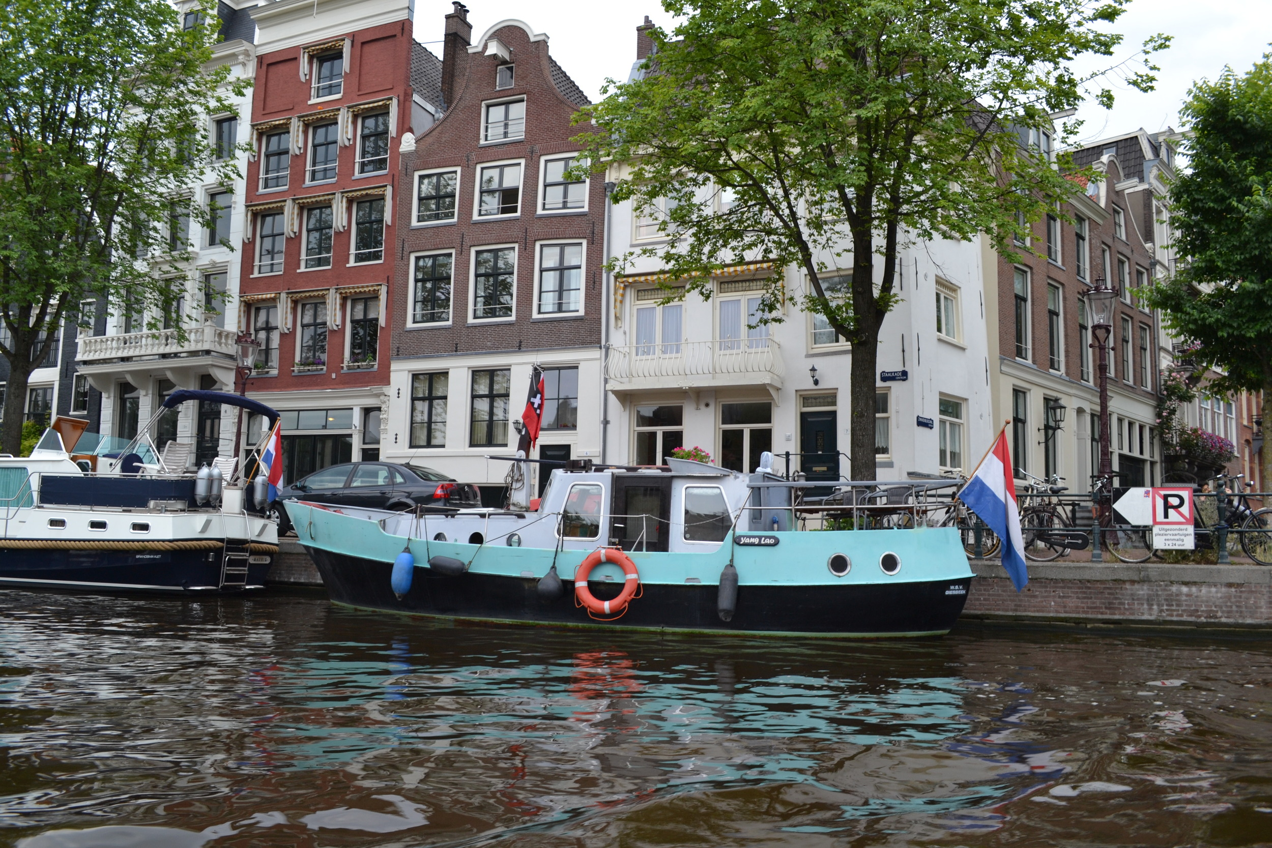 Cruising on the canals