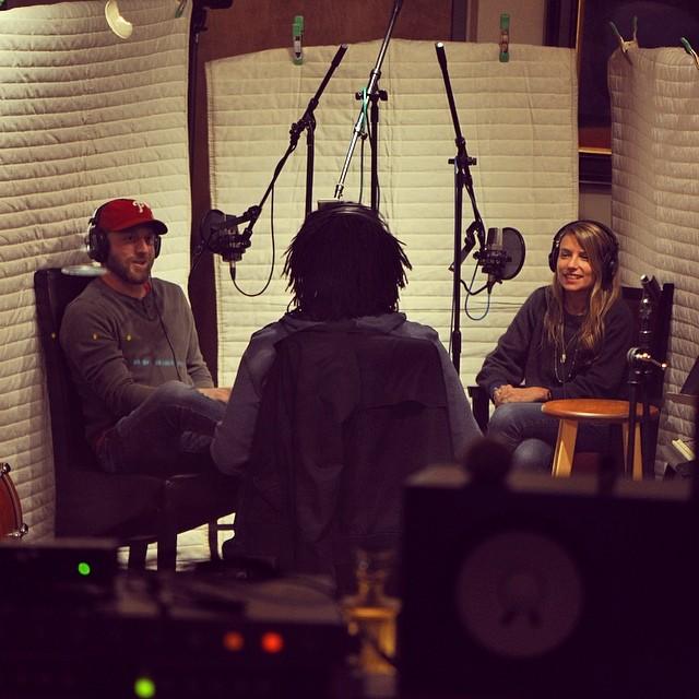 @nickmcnevich & @randilawson interviewing the hilarious @sidneygantt in studio @sinestudios