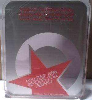 Pollstar 1988 Readers Poll Award