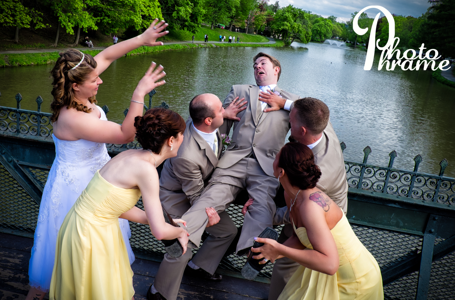 101 ways to get rid of your loved one after the wedding! Lesson #1...