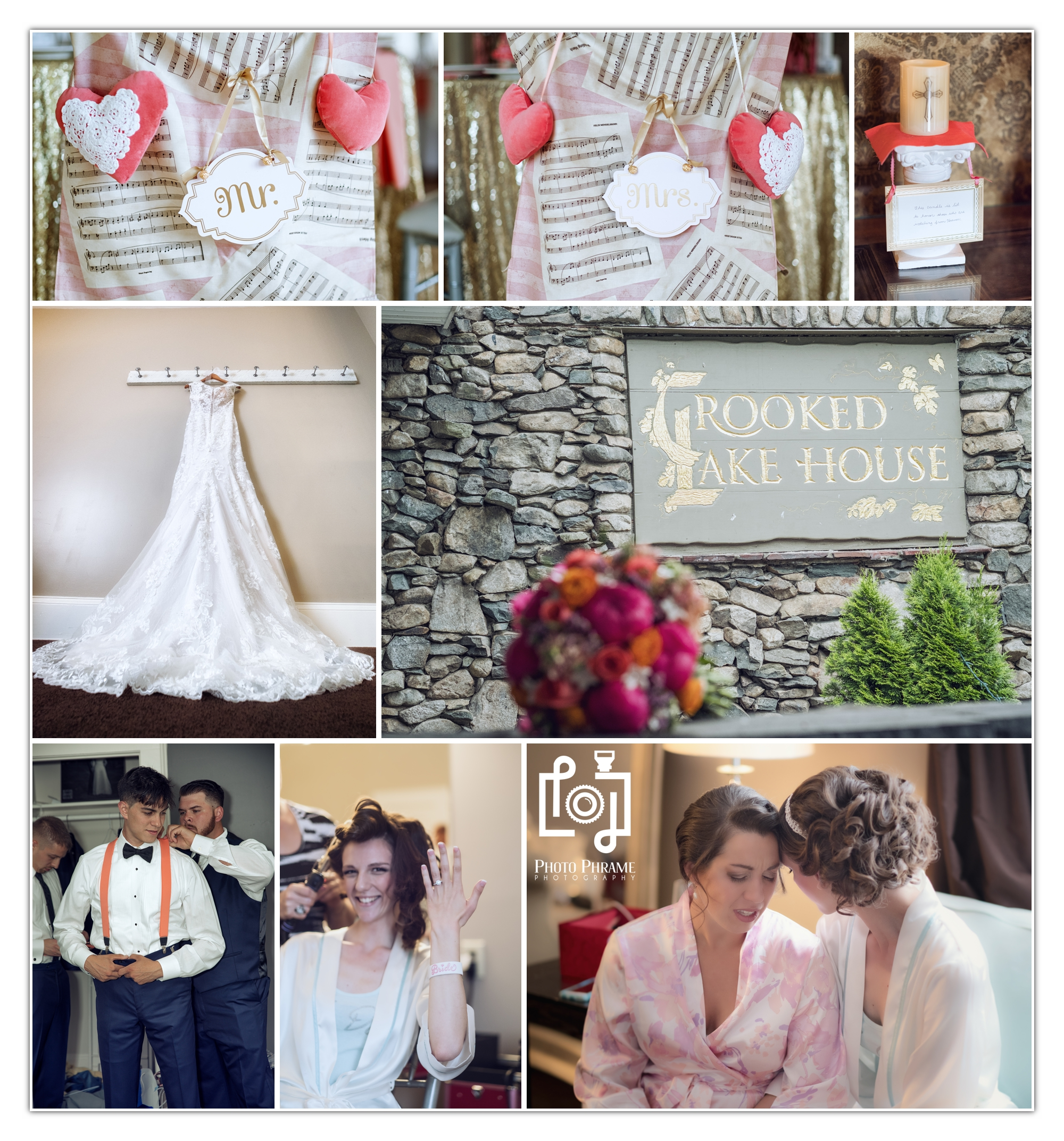 Crooked Lake House Wedding