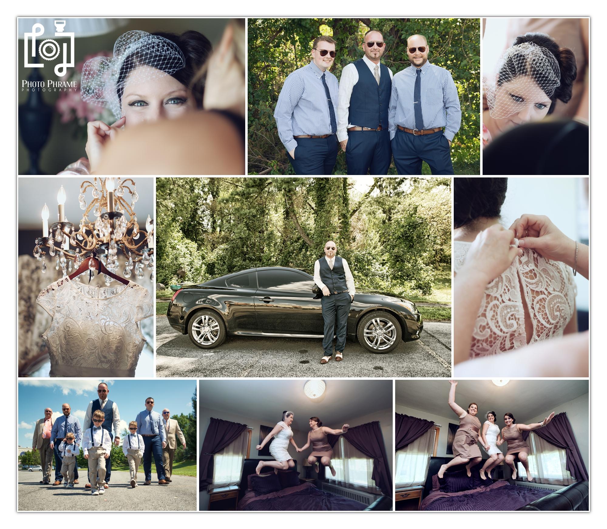 Retro Wedding Photography, Albany, NY
