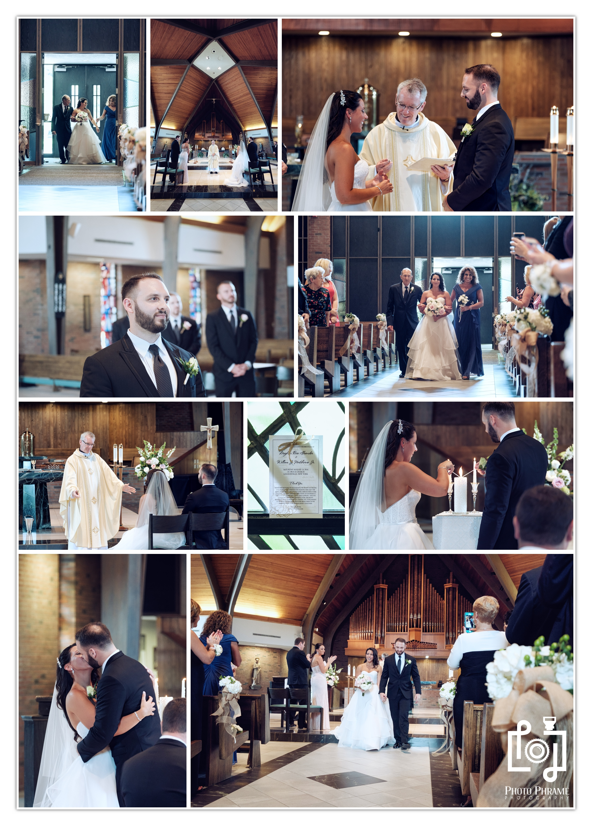 St. Pius X Church Wedding