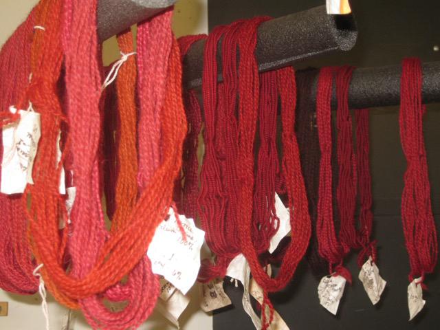Natural Dyed Yarn from Madder