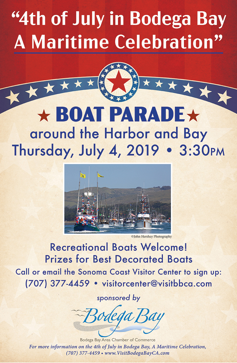 Want to be in the boat parade with your boat? Sign up by emailing  visitorcenter@visitbbca.com