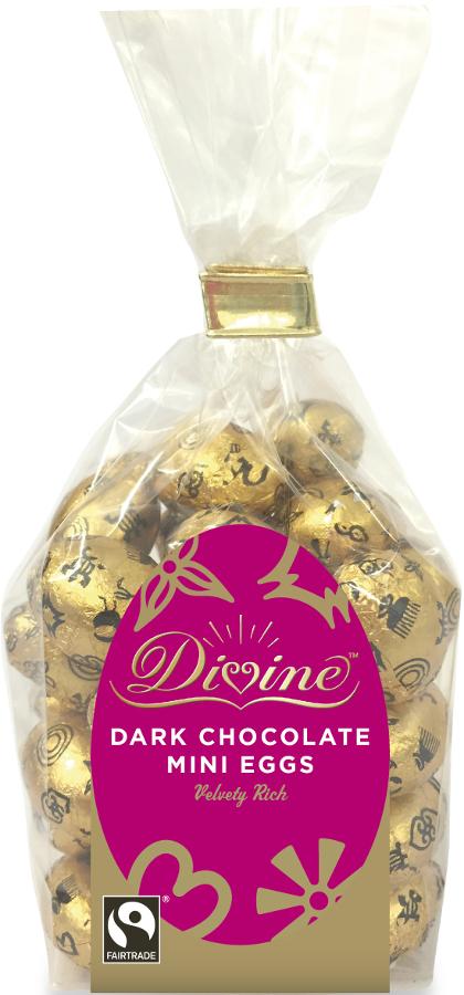 Divine Dark Chocolate Mini Eggs