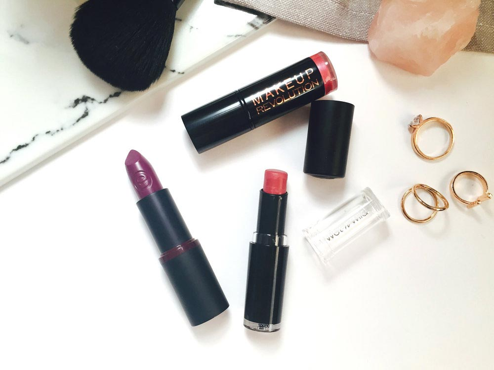 Cruelty - Free Lipsticks from Essence, Wet ' n ' Wild and Makeup Revolution