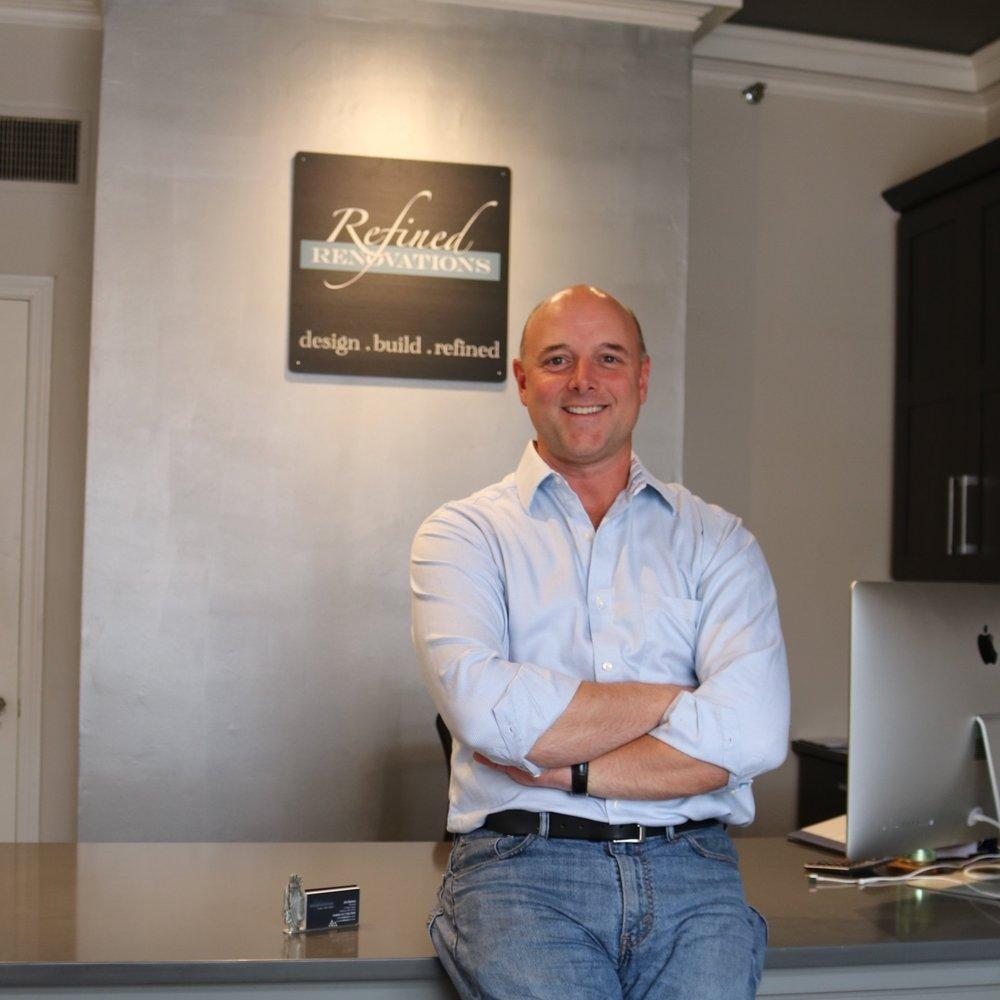 Jim Buhrer, Principal of Refined Renovations, LLC