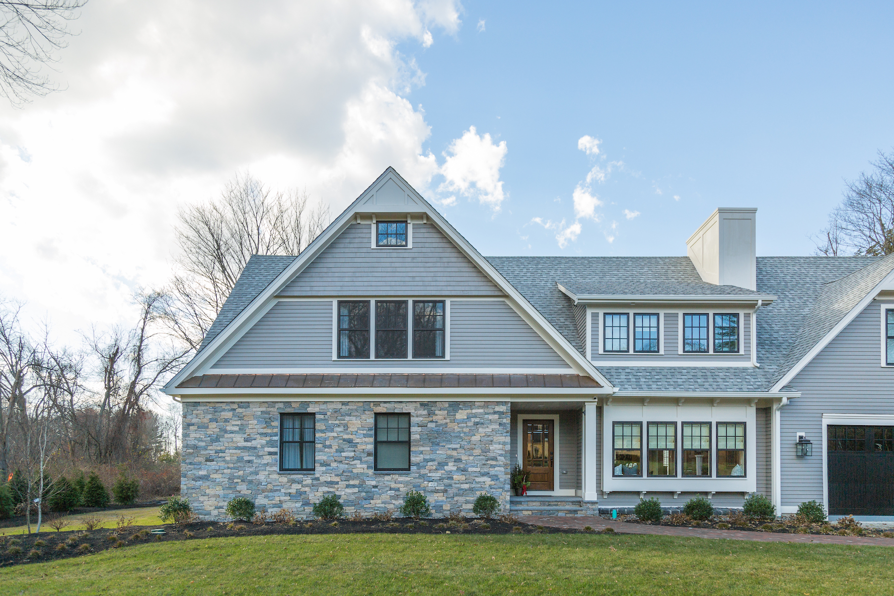 After Image Of Andover Custom Built Home