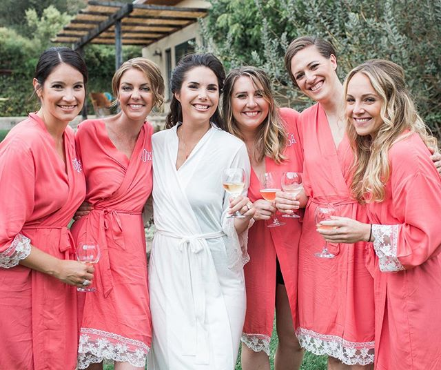 """A toast with your besties before saying """"I do."""" #chantelgiongcophotography"""