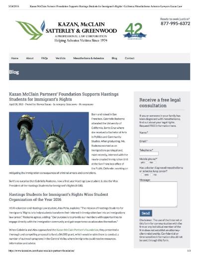 Client :  Kazan Law