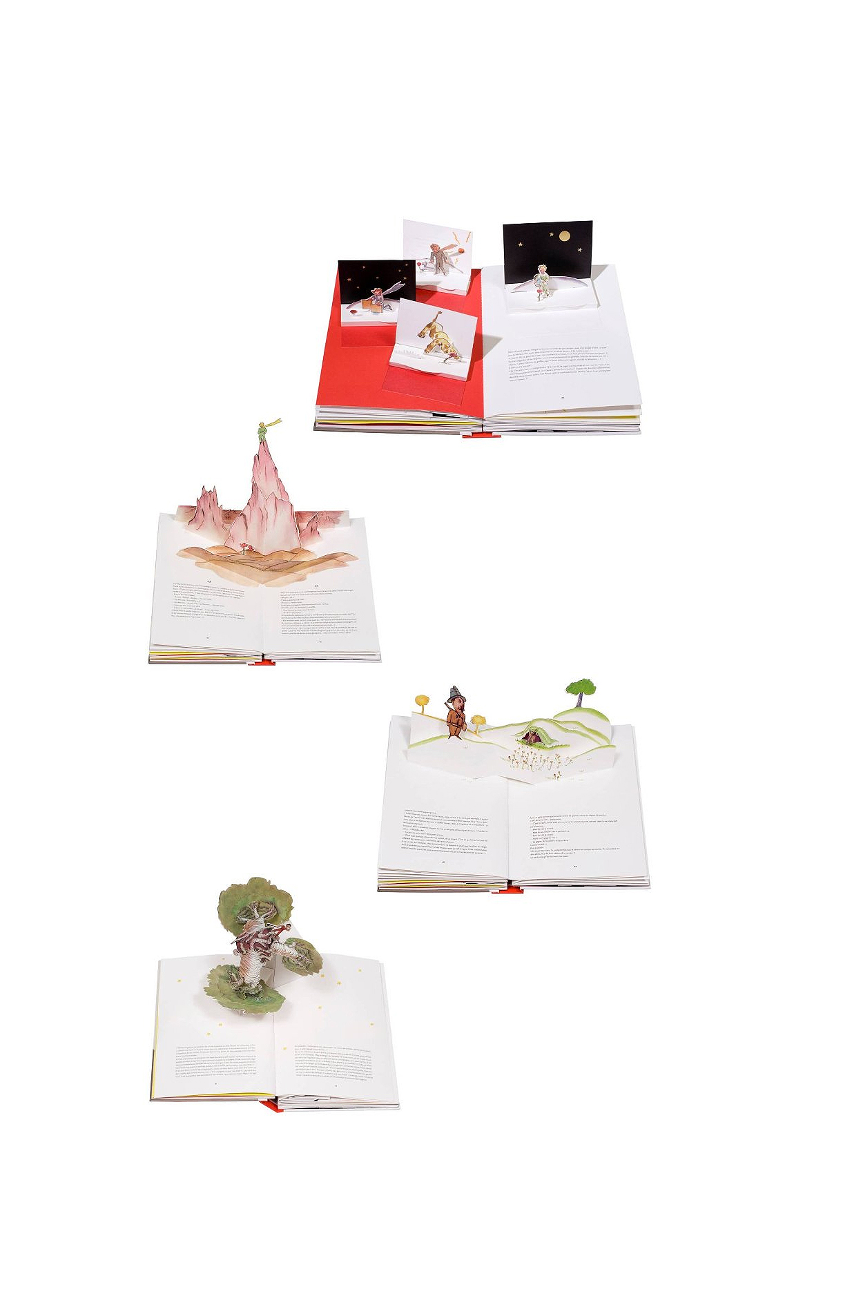 The Little Prince Deluxe Pop-Up Edition interior spreads