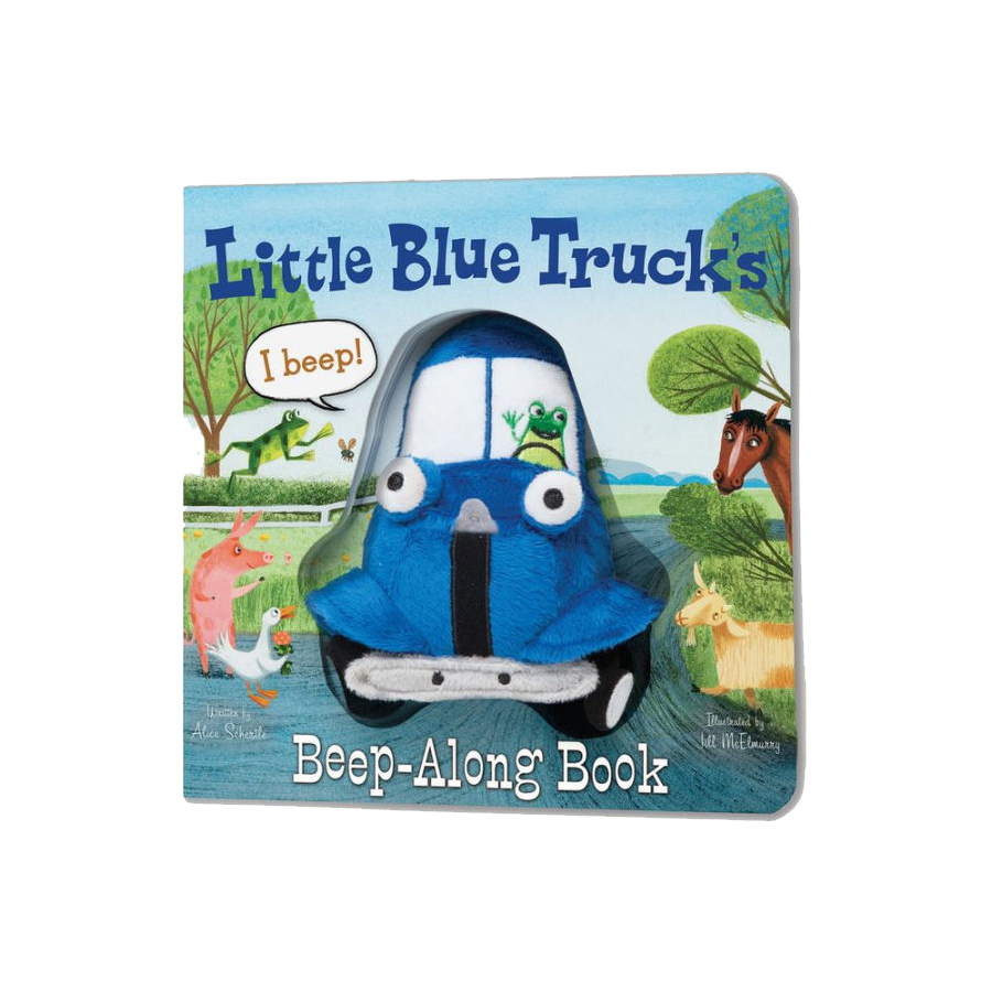 Little Blue Truck Beep-Along Book