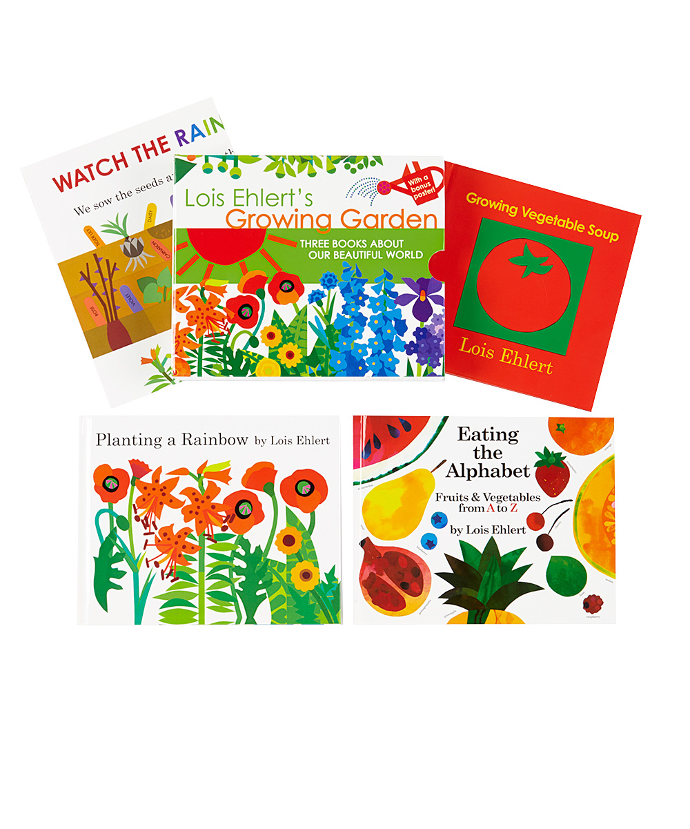 This educational box set entailed designing a package which carried through the iconic look of Lois Ehlert's art and redesigning the included books to fit this new format (without losing any original detail or reading ease) and the design of a new poster for curious learners about the natural world.