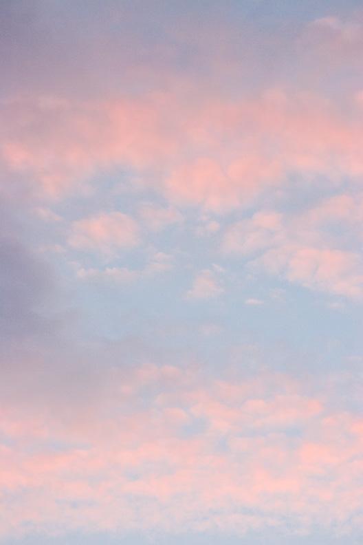 Sunset Cloud Abstract, Manassas, Virginia, United States.