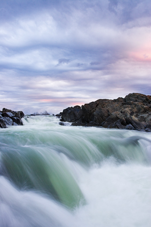 Clearing Storm at Sunrise, Great Falls National Park, Virginia