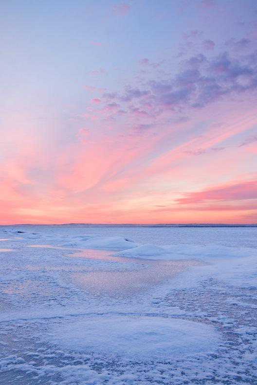 Taft Bay Park Sunrise, Bernhard's Bay, Oneida Lake, New York.