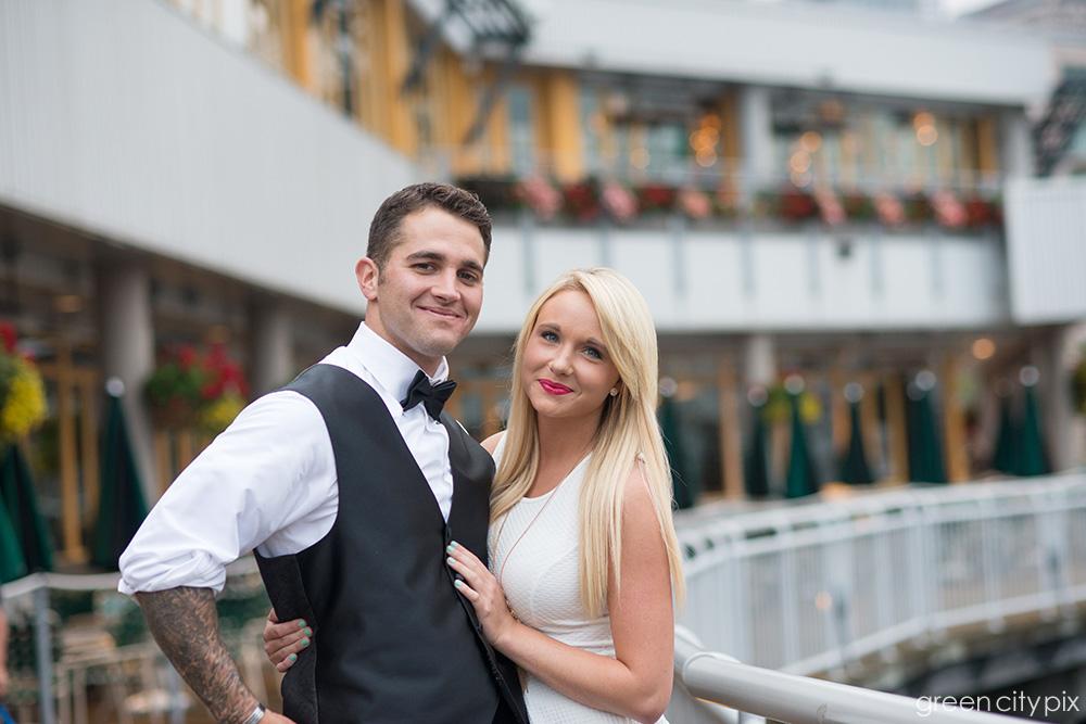 Future bride and groom?