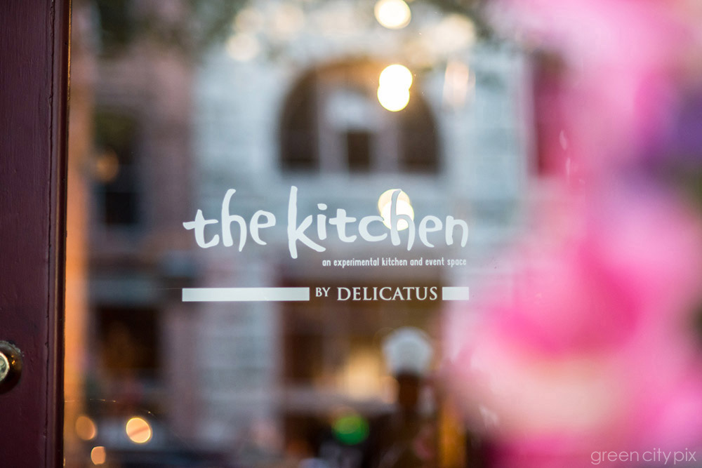 The wedding and the reception were held at the Kitchen by Delicatus in Pioneer Square.
