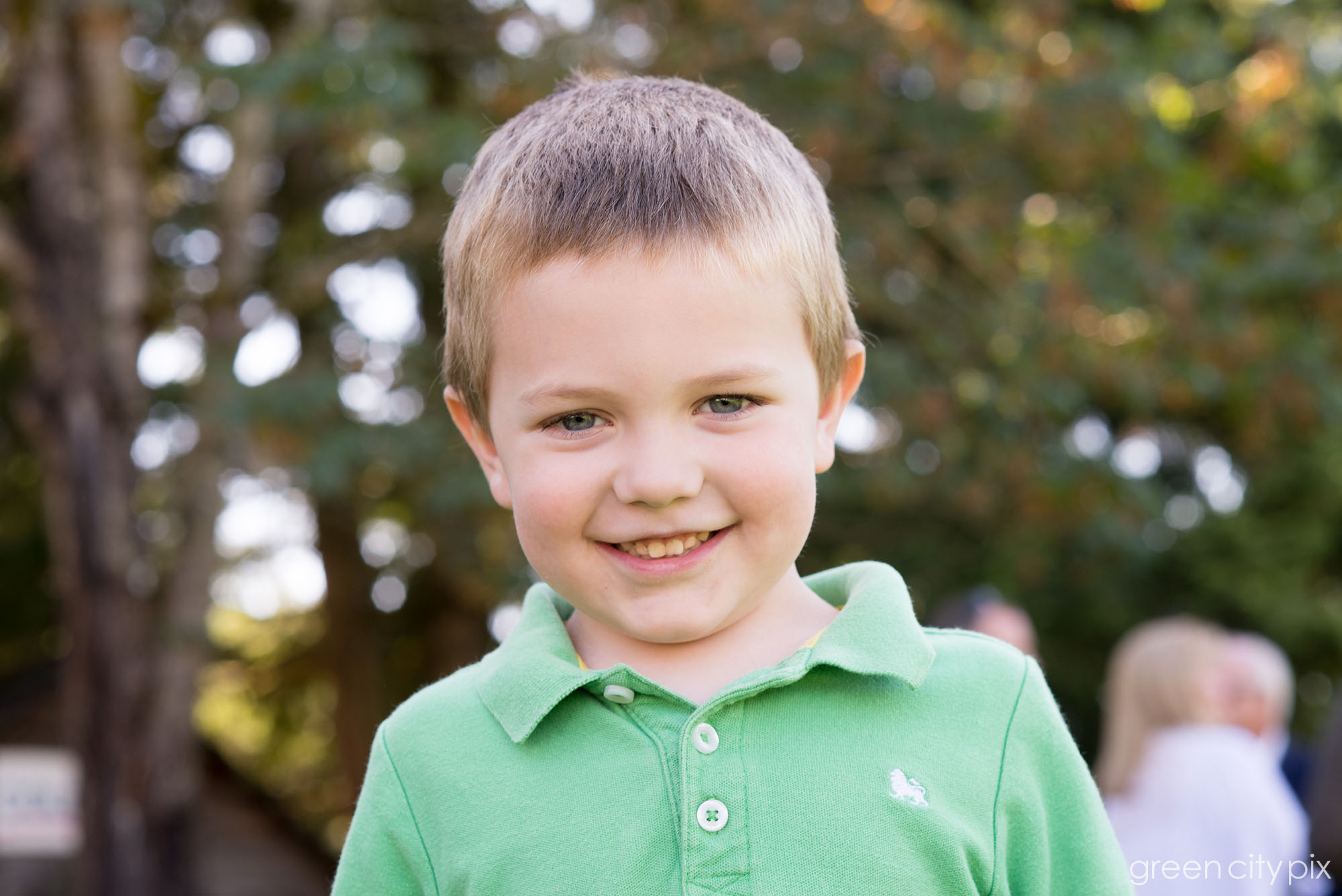 This boy was so adorable!