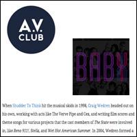 Stream Craig Wedren's  Baby  mixtape...,  A.V. Club,  Jul 12, 2012