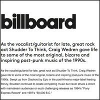 Craig Wedren Dances Again with Baby,  Billboard Magazine , October 14, 2004