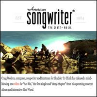 Craig Wedren and David Wain Discuss Innovative 360-degree Video, Ameriacn Songwriter , Feb 16, 2011