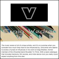 Craig Wedren-Wand, Verbicide Magazine, Sept 5, 2011