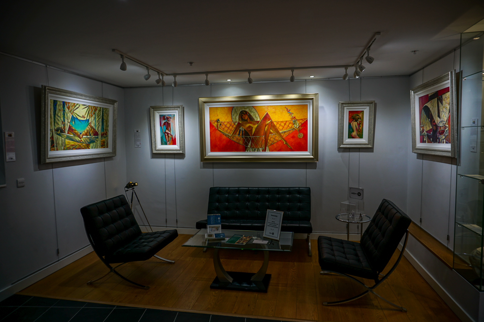 Gallery 21 Client Area with Andrei Originals