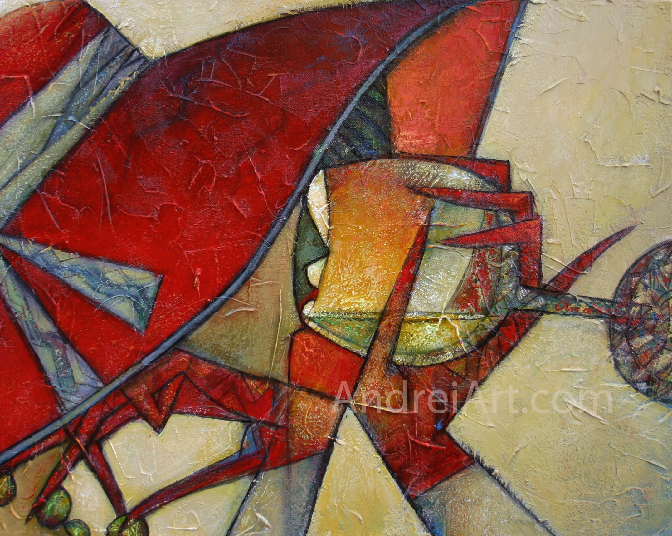 """""""Chapeau de la Rouge"""" Oil on Canvas 16"""" x 20"""""""