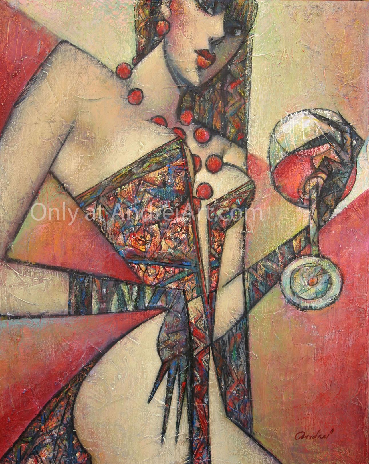 """Rose de Provence"" Oil on Canvas 20"" x 16"""