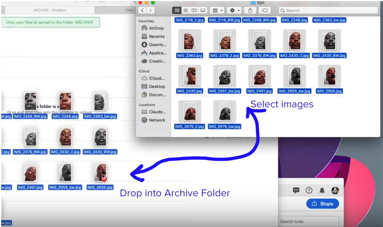 Step 3 select drag and drop images.jpg