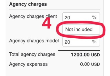 4 agency charges