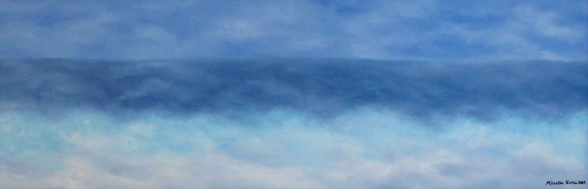 12 x 36, Oil on Linen (Sold)