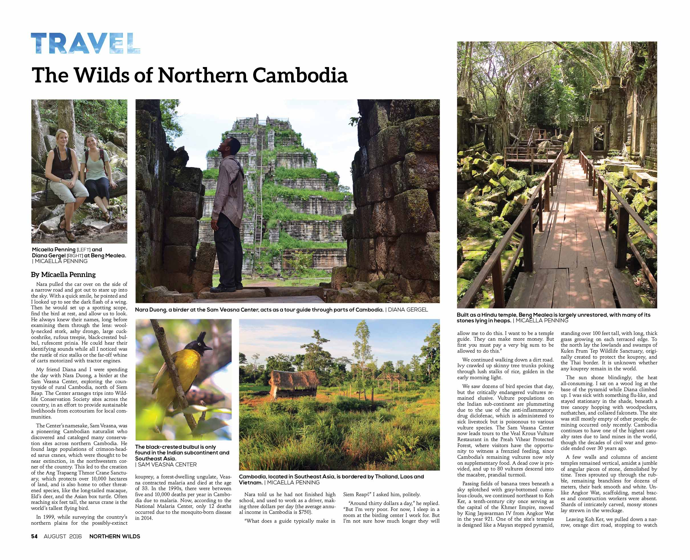 The Wilds of Northern Cambodia  in Northern Wilds