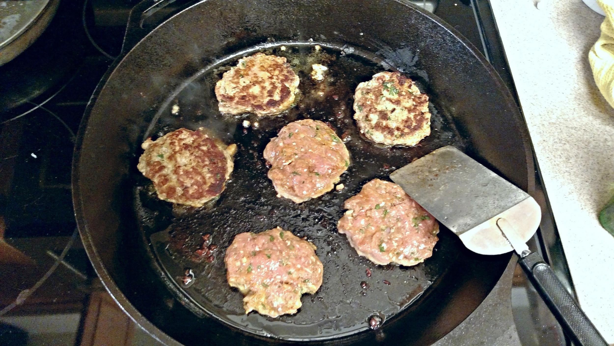 This Week in Food - Turkey Patties